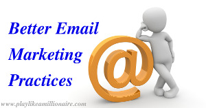 You can learn both good and bad email marketing practices by joining other people's lists. I take apart a good one in this post