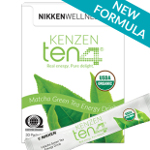 Kenzen Ten4 matcha green tea powder energy drink mix