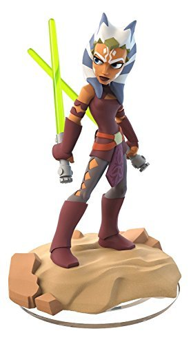 The Ahsoka Tano figurine from Disney Infinity Twilight of the Republic