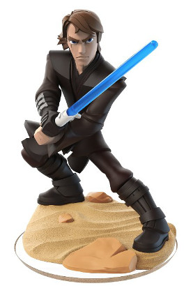 The Anakin Skywalker figurine from Disney Infinity Twilight of the Republic