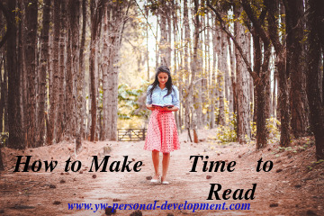Reading is vital to expand your mind and grow your skills. You need to know how to make time to read.